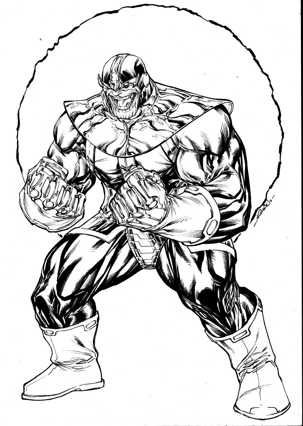 Thanos - sept8th2014 by SpiderGuile on DeviantArt