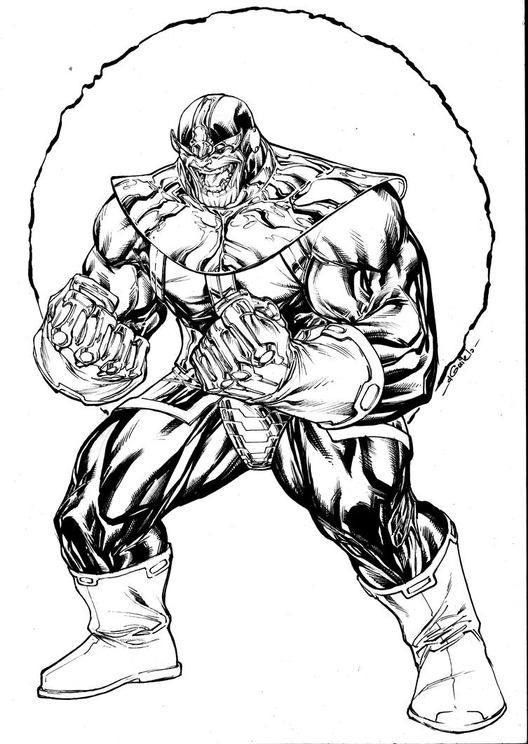 Thanos sept8th2014 by SpiderGuile