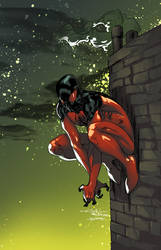 Scarlet Spider - Joey Vazquez colors by SpiderGuile