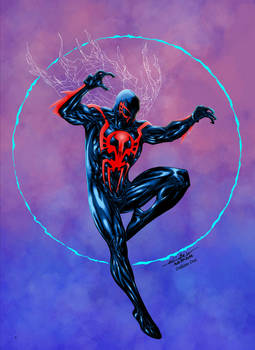 Spider-man 2099 - Crisstiano Cruz Colors