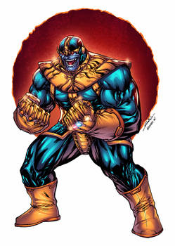 Thanos - Alonso Espinoza colors