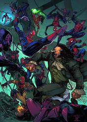 Spider-Man Thursday 40 Joey Vazquez colors by SpiderGuile