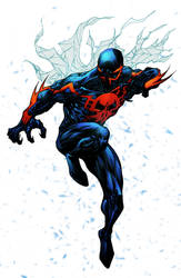 Spider-man 2099 - Crisstiano Cruz Colors by SpiderGuile