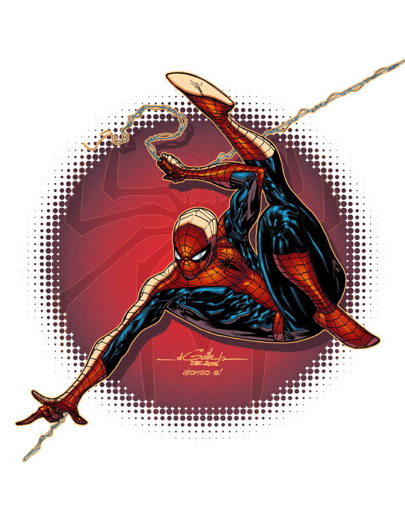 Amazing Spider-Man  - Alonso Espinoza colors by SpiderGuile