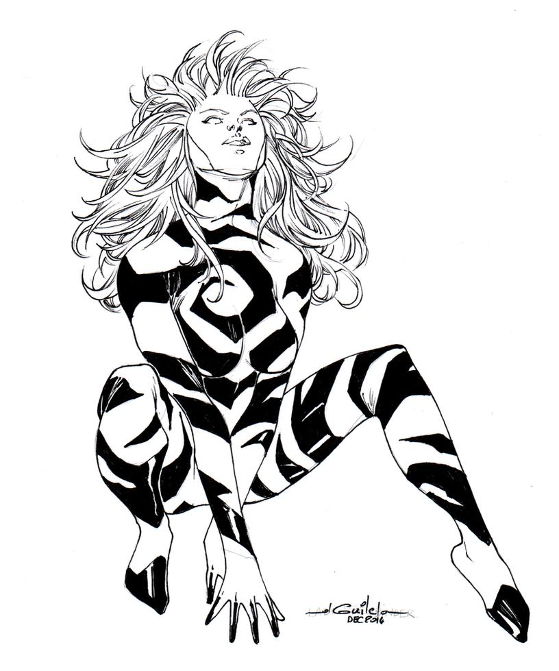 lady Spellbinder by SpiderGuile