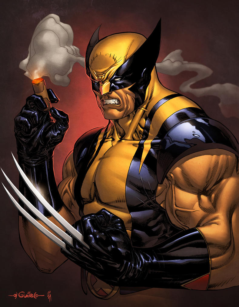 Wolverine - Simon Gough color by SpiderGuile