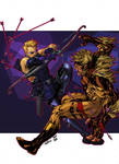 Hawkeye Vs Sabretooth - Timothy Brown Roberto AGM