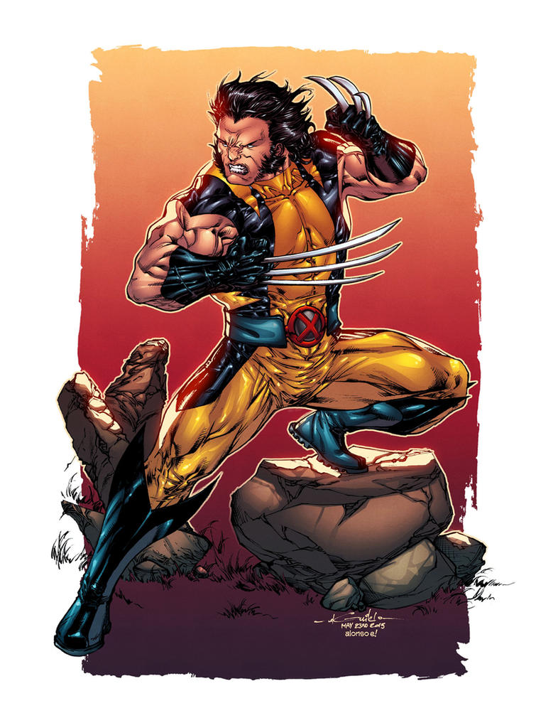 Wolverine - Alonso Espinoza Colors by SpiderGuile