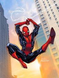 Amazing Spider-Man - Splash Colors