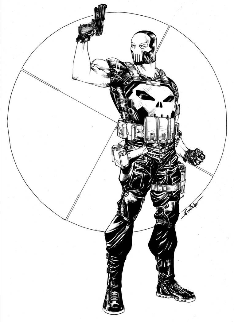 Punisher mask - nov2nd2015 by SpiderGuile