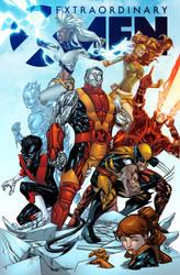 Extraordinary X-Men - Alonso Espinoza colors