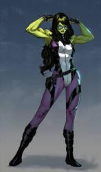 She-Hulk - Harrison Tombra Yinfaowei colors