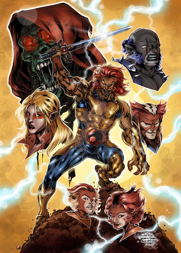 Thundercats - Stephane Spatola colors by SpiderGuile