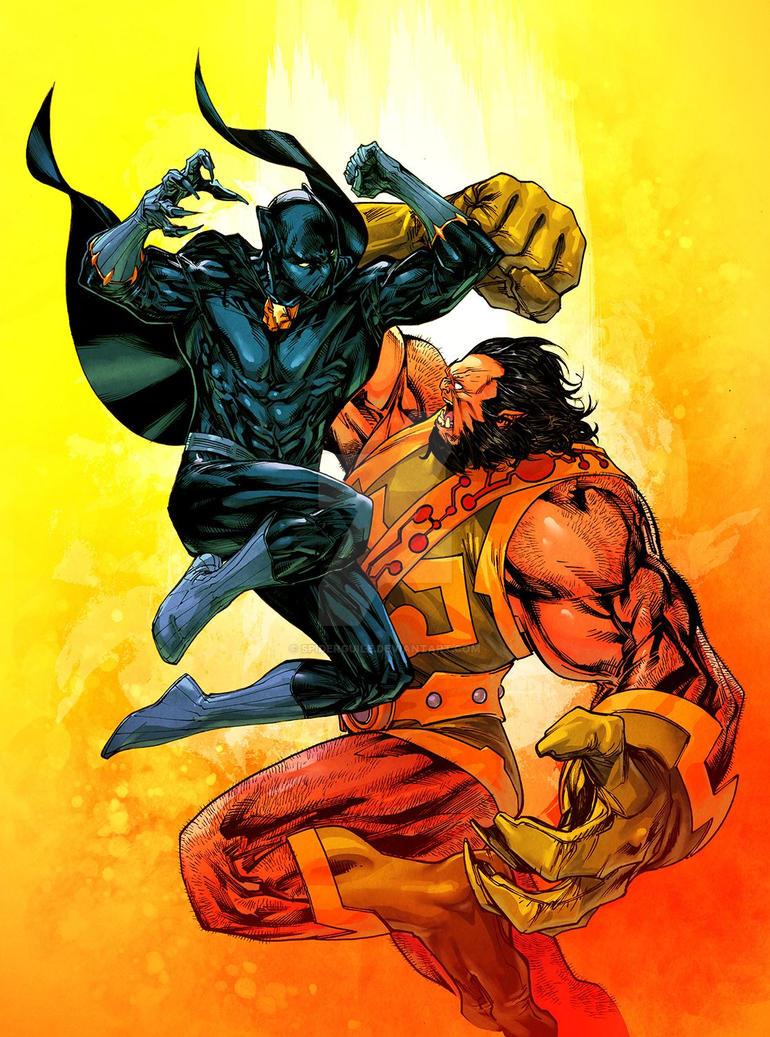 Black Panther vs Kalibak - Jean-Francois Beaulieu by ... - photo#12