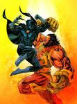 Black Panther vs Kalibak - Jean-Francois Beaulieu