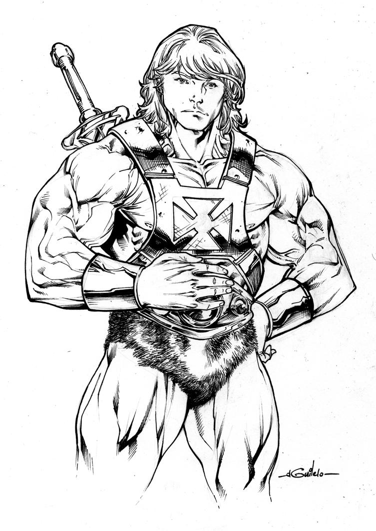 He-Man by SpiderGuile