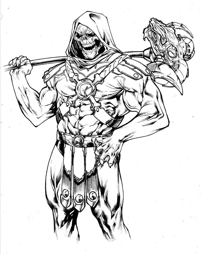 Skeletor by SpiderGuile