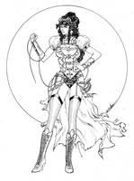 Wonder Woman Steampunk by SpiderGuile