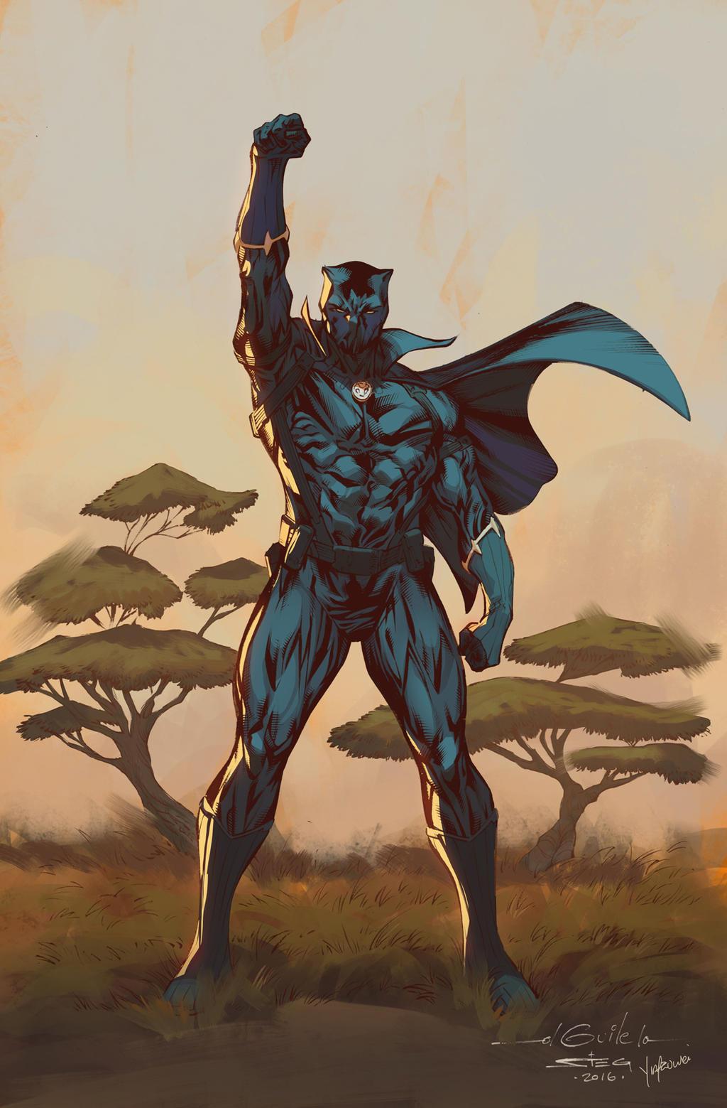 Black Panther Conqueror