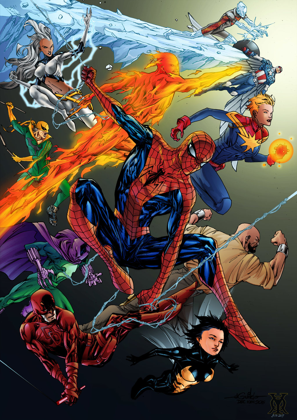 Spider-Man Thursday 41 - Roy Hobbitz Colors