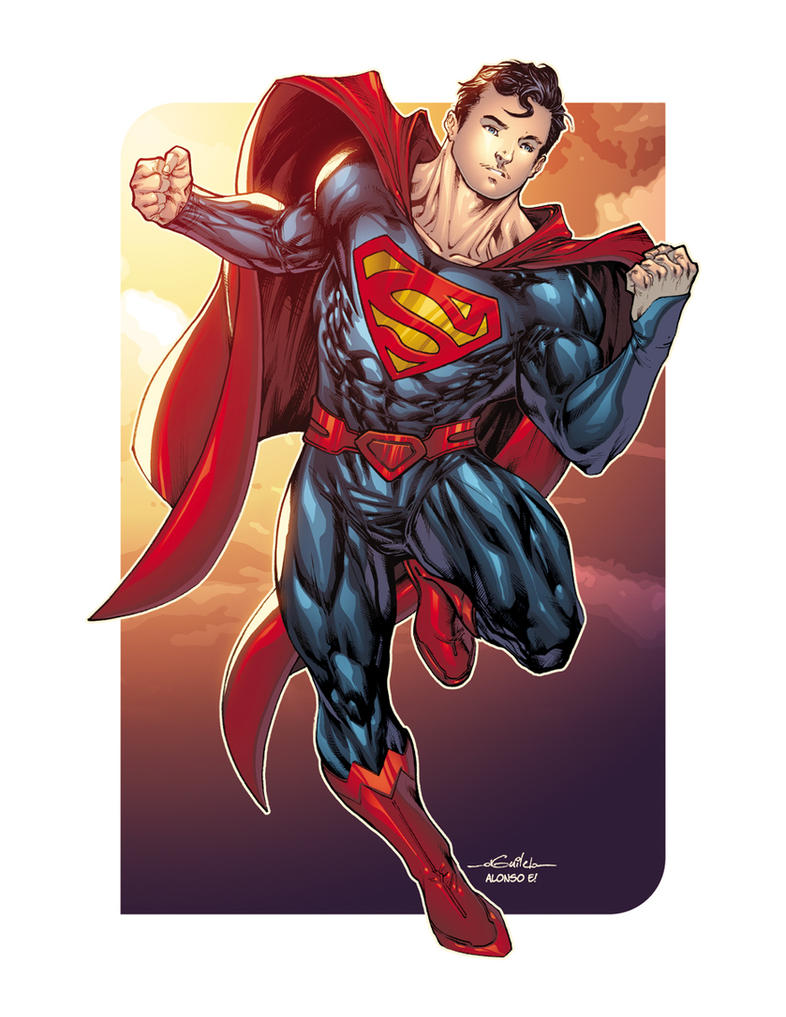 Superman - Drink'n'Draw Paris by SpiderGuile