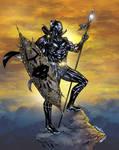 T'Challa, King of Wakanda - Crisstiano Cruz colors