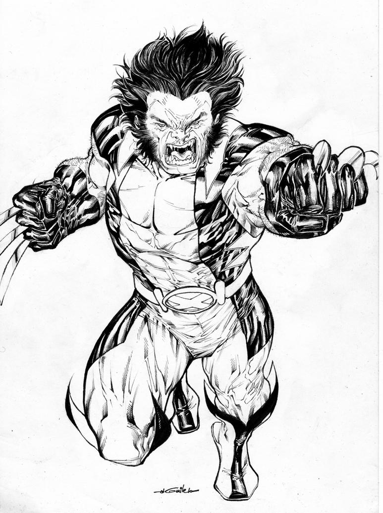 Wolverine of the X-Men by SpiderGuile