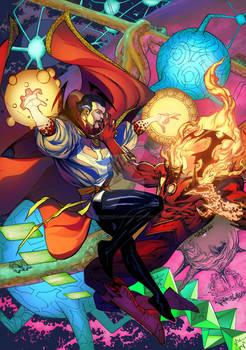 Doctor Strange vs Dormammu
