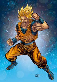 Goku - Crisstiano Cruz saiyan colors