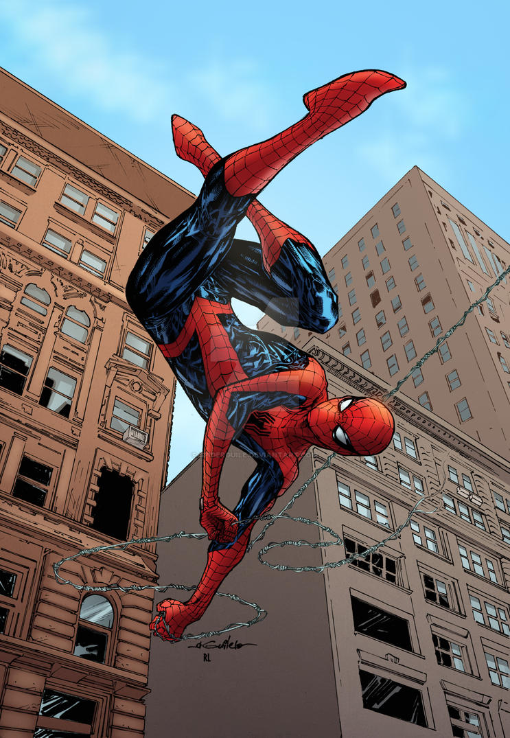Spider-Man Thursday 48 - Renan Linod colors by SpiderGuile