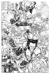 Marvel Universe mops the floor with Mars Attacks by SpiderGuile