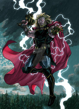 Thor the mighty - april 30th 2018 - Biram Ba color