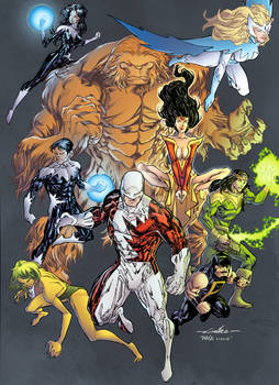 Alpha Flight - Pask colors