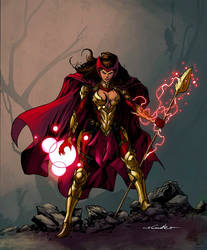 Scarlet Witch Heroic Fantasy version