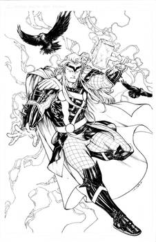 Thor #7 variant cover