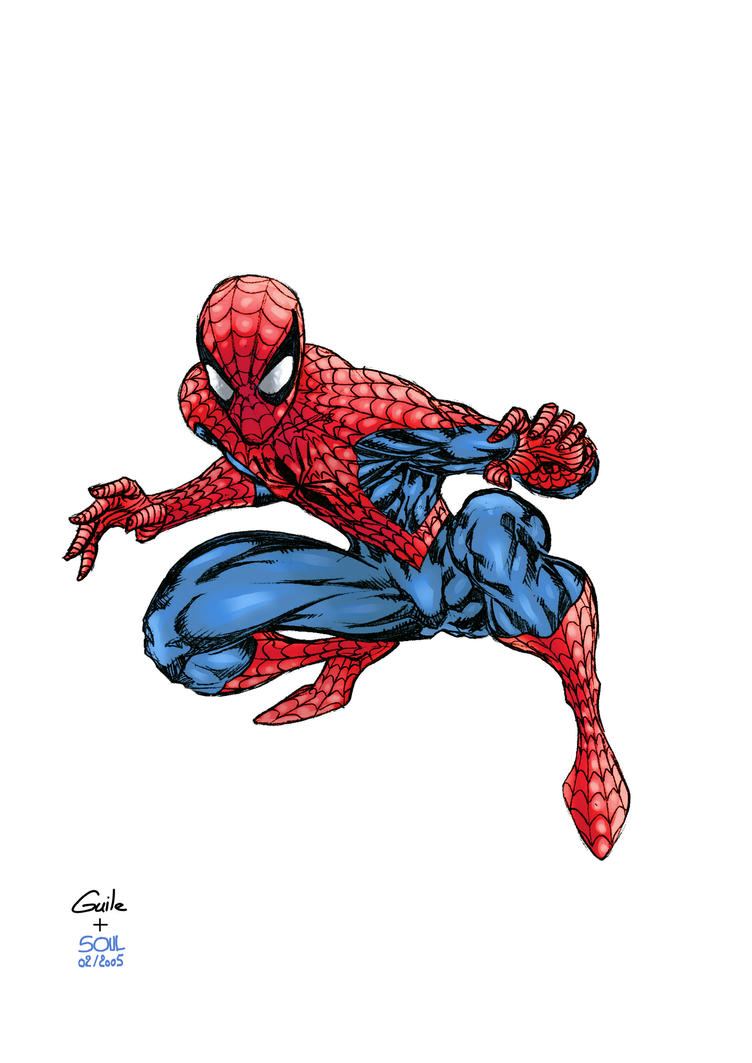 The Amazing Spider-Man by SpiderGuile