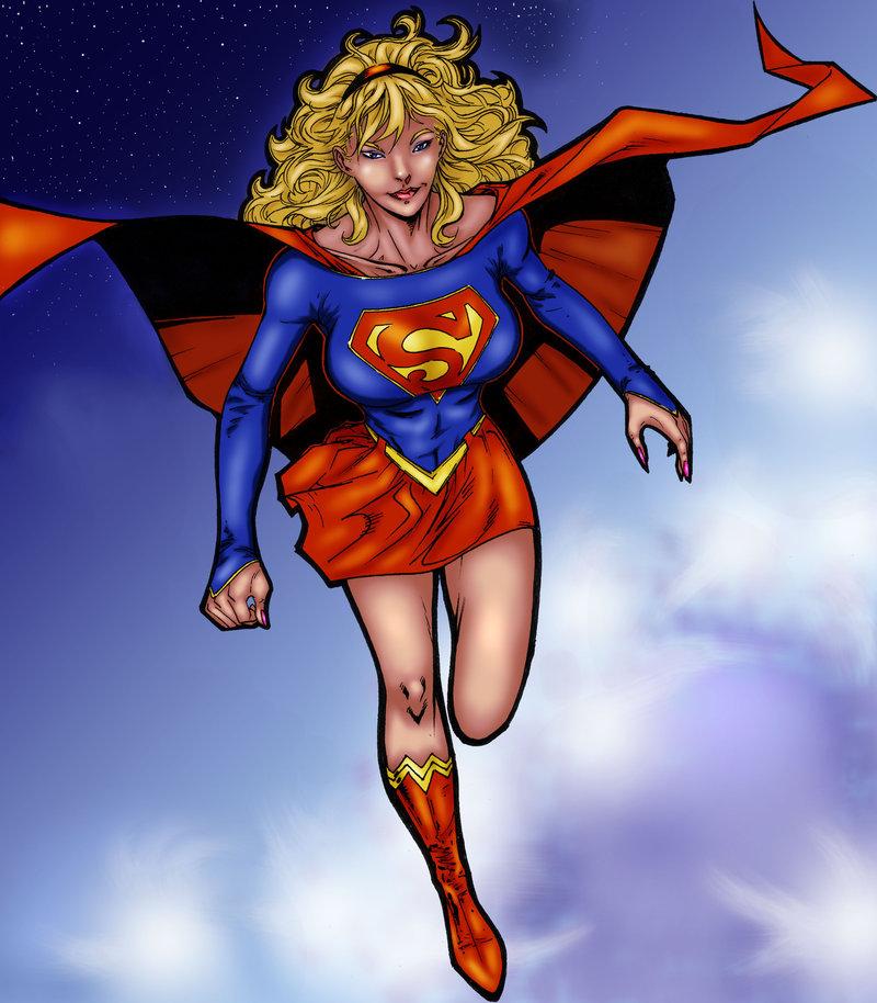 Ederoi Supergirl by SpiderGuile
