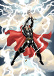 Thor unleashes his storm