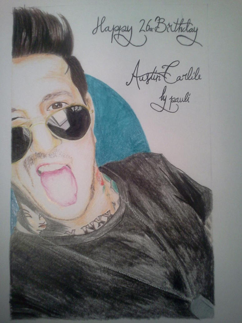 Austin carlile by silentxgrey on deviantart - Austin carlile wallpaper ...