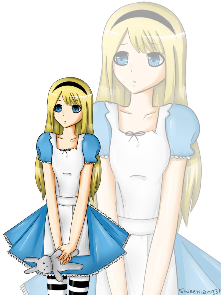 Alice In Wonderland by sweetiiang3l on DeviantArt