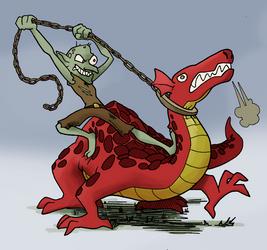 Goblin Dragon Rider