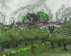 Factorio Fanart- Nuclear Power