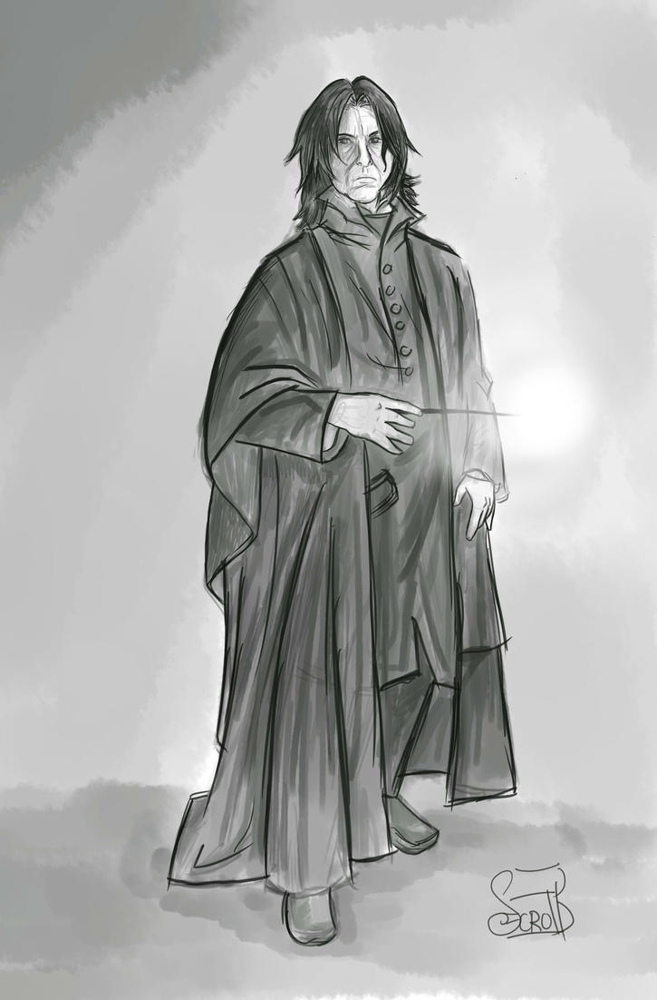 Snape Doodle by CaineScroll