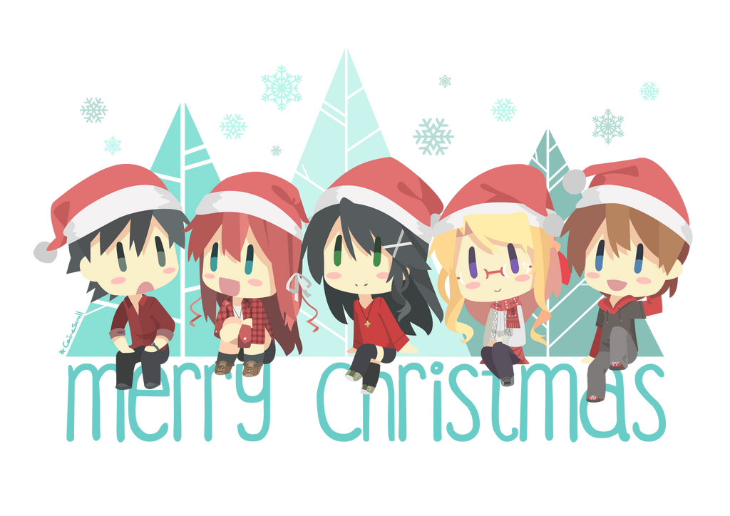 Merry Christmas! by CaineScroll