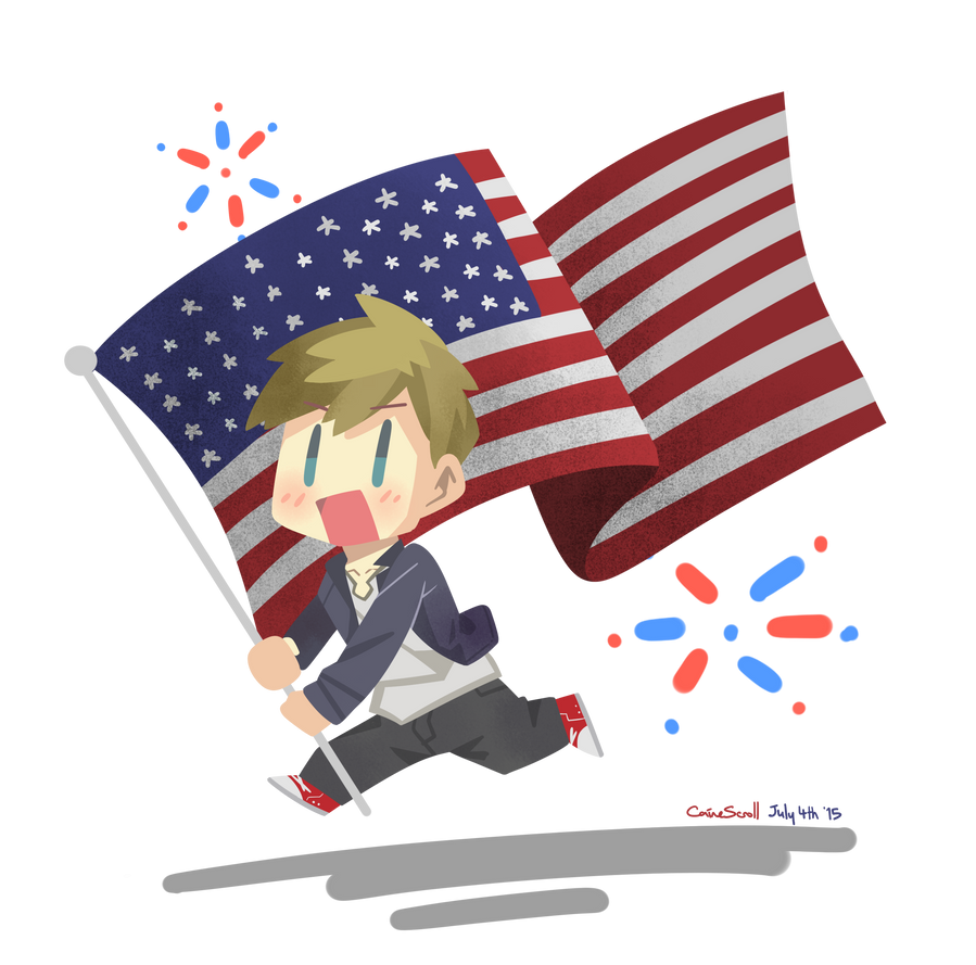 Happy 4th of July! by CaineScroll