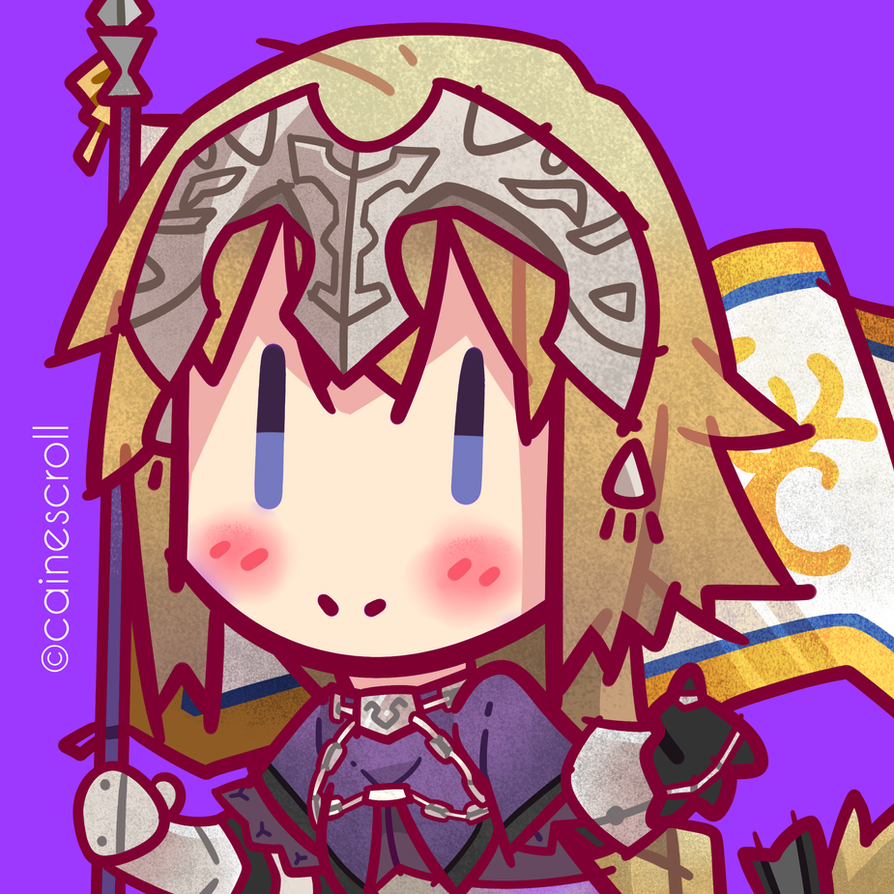 Jeanne D'Arc by CaineScroll