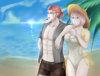 [PR] Summer Days by kumaokaa-san