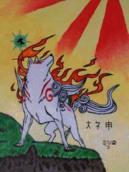 Amaterasu - Okami by DanyWolf