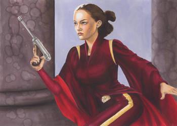 Padme: Women of Star Wars by AllisonSohn