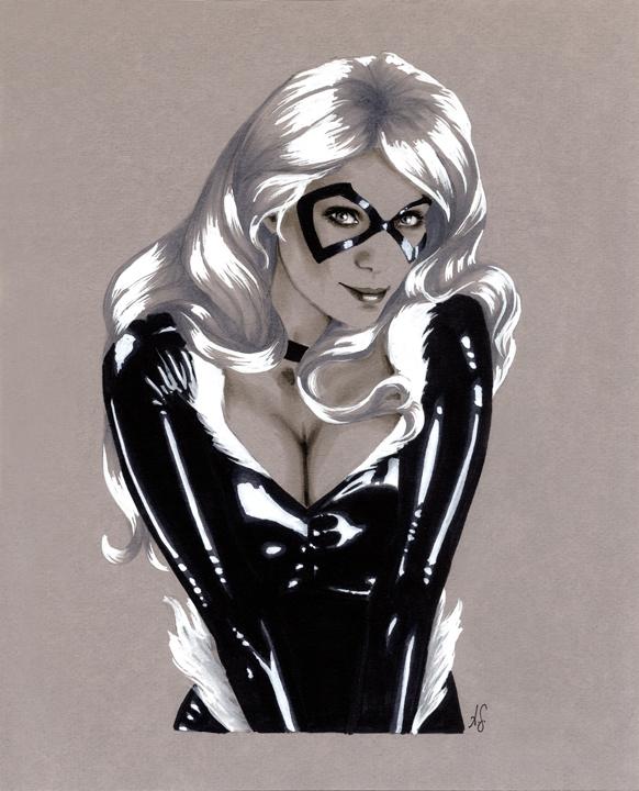Black Cat by AllisonSohn